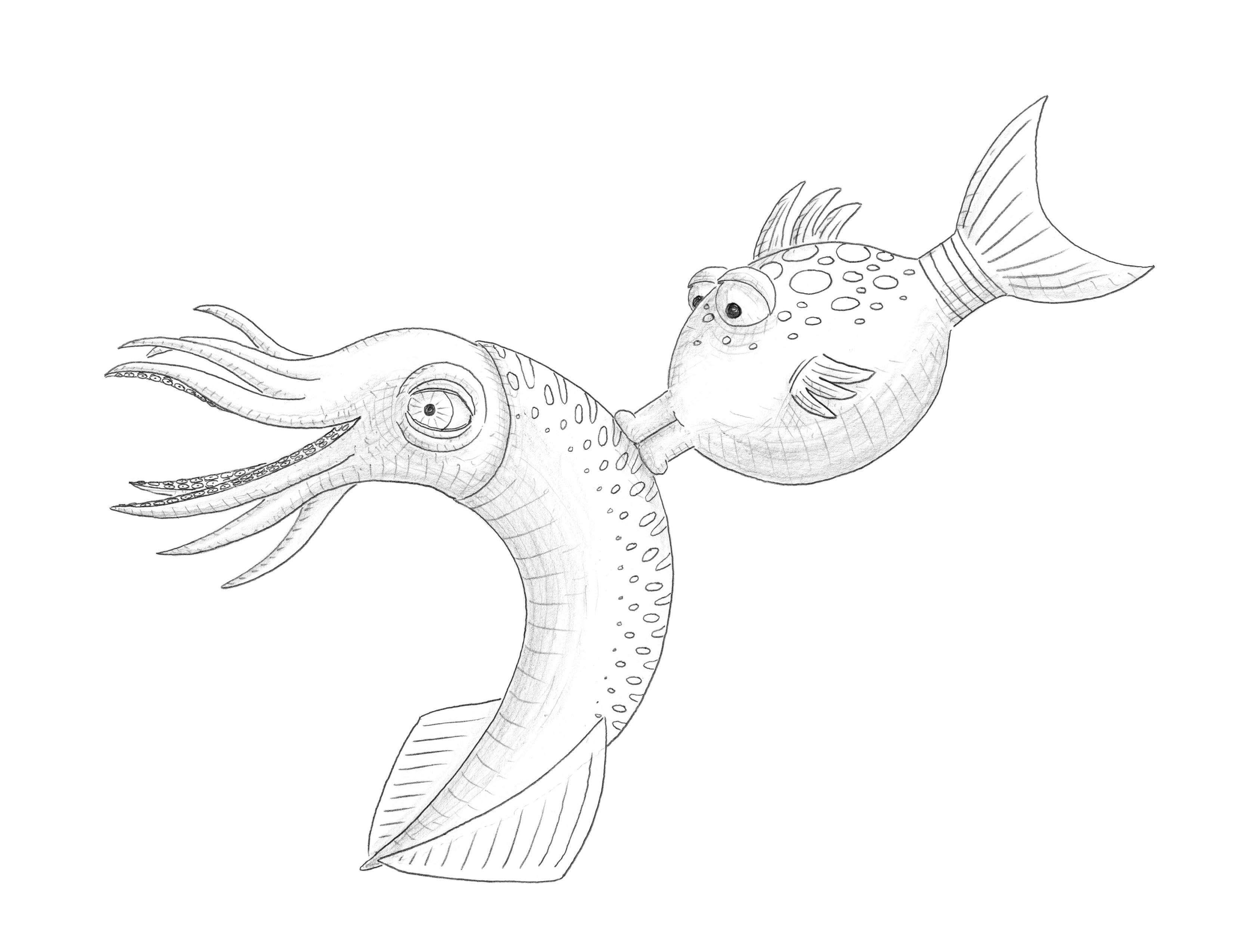 Free Coloring Pages Of Pout Fish Pout Pout Fish Coloring Pages