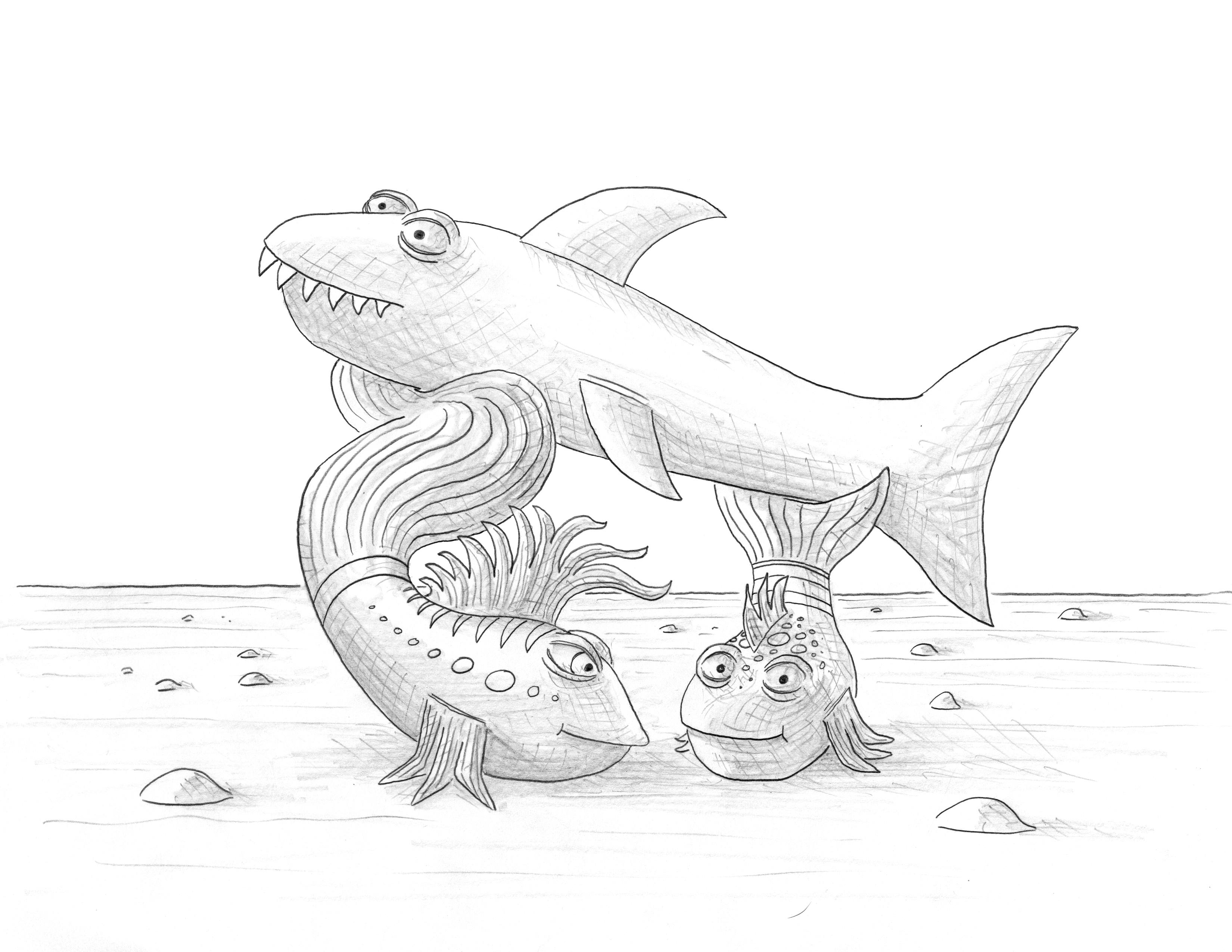 I Pout Pout Fish Coloring Pages Pout Pout Fish Coloring Pages