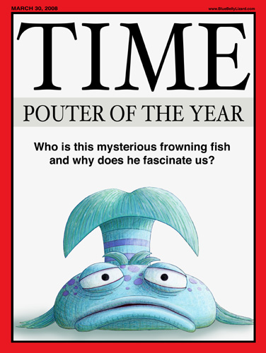 The pout pout fish magazine covers for Book with fish on cover