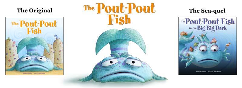 The pout pout fish for The pout pout fish